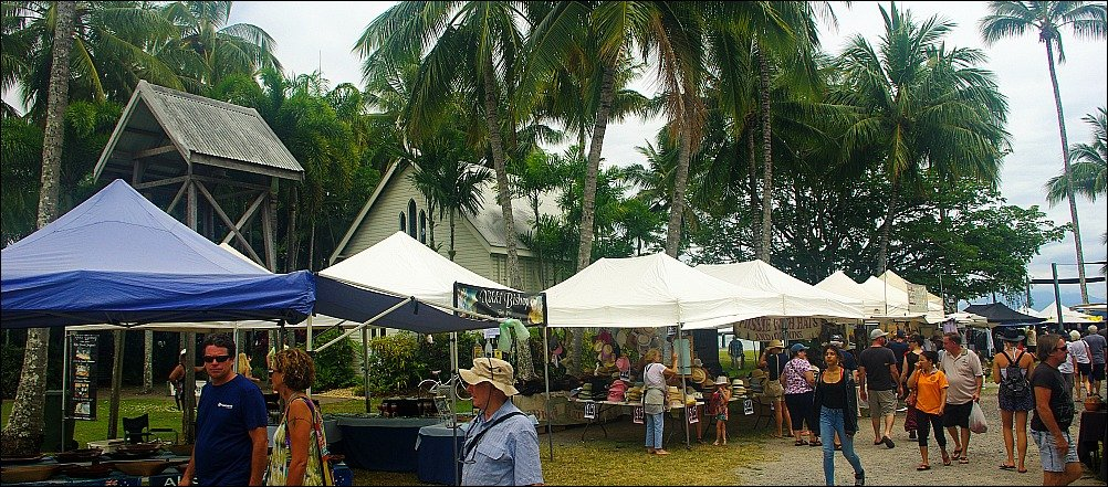 Port Douglas Sunday Market and St. Marys Church
