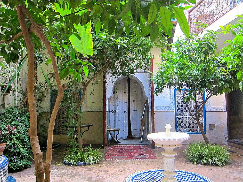 Riad Maizie Courtyard in Marrakech