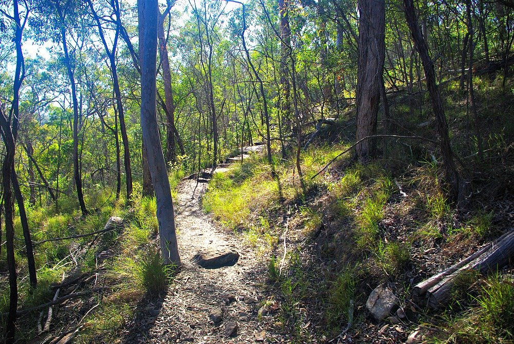 Cania Gorge National Park Walking Tracks and Accommodation Giants Chair gentle climb