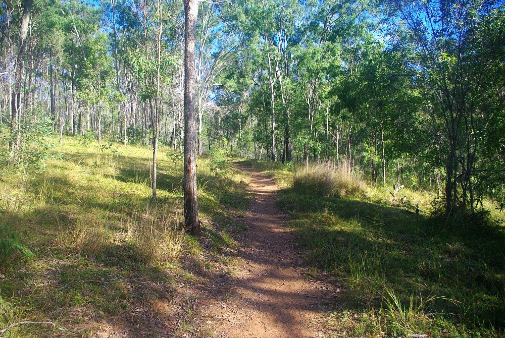 Cania Gorge National Park Walking Tracks Start of Giants Chair Walk