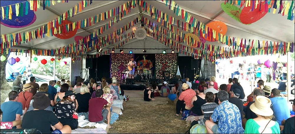 Palm Creek Folk Festival Stage