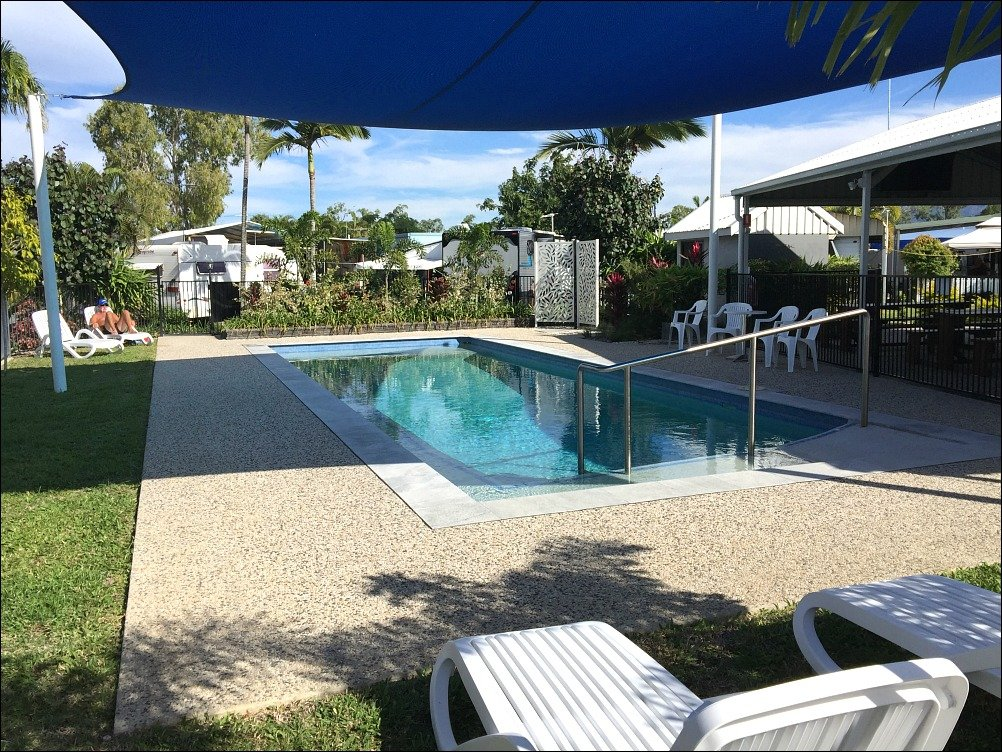 Townsville Tourist and Lifestyle Village Pool and a Review by Budget Travel Talk