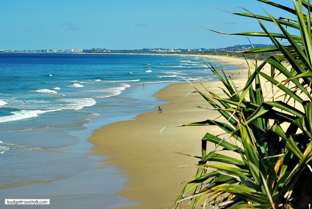 Yaroomba Beach South of Coolum is the site of the proposed Sekisui Development