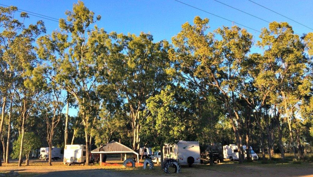 Dululu Freecamp on the Burnett Highway in outback Queensland