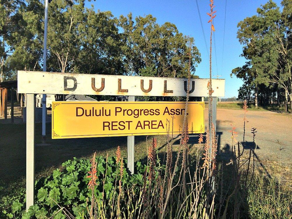 Dululu Progress Assn. Rest Area