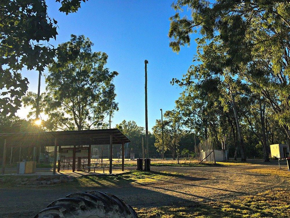 Dululu Sunrise Freecamping in Queensland Australia