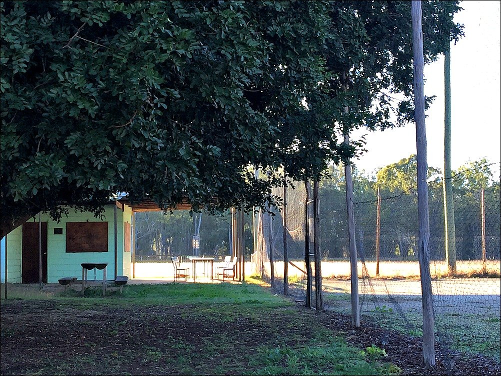 Dululu Tennis Court and Club House Queensland Australia