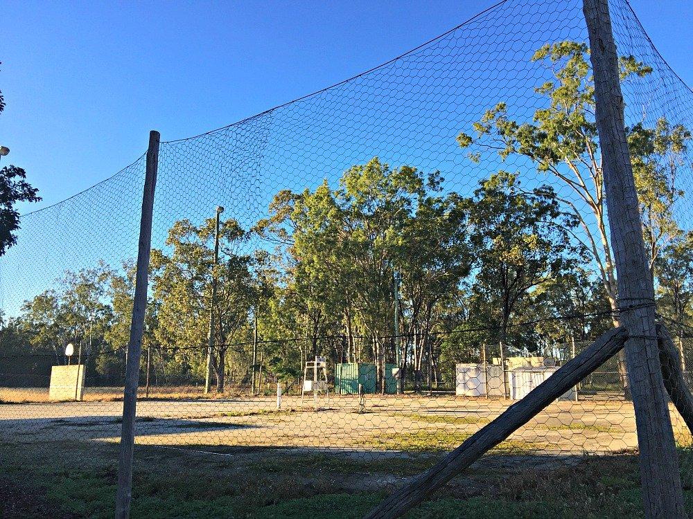 Dululu Tennis Court near the Dululu Progress Assn Rest Area Free Camp on the Burnett Highway, Queensland, Australia