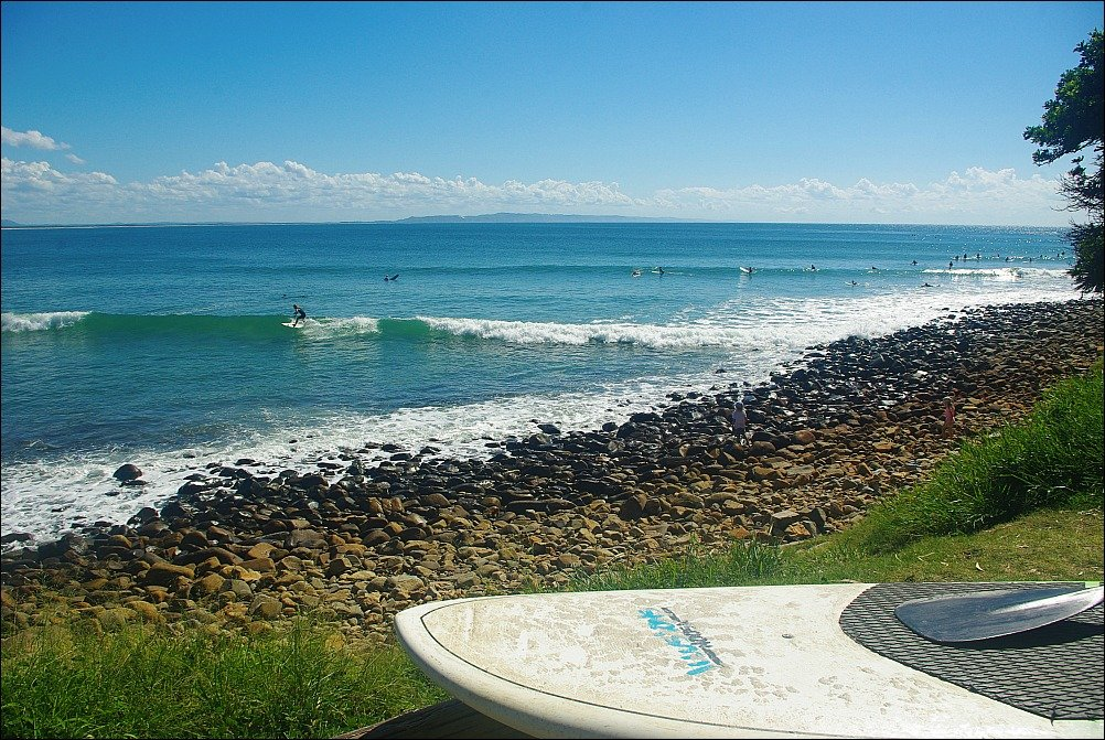 Noosa National Park has some of the Best Sunshine Coast Beaches for Surfing