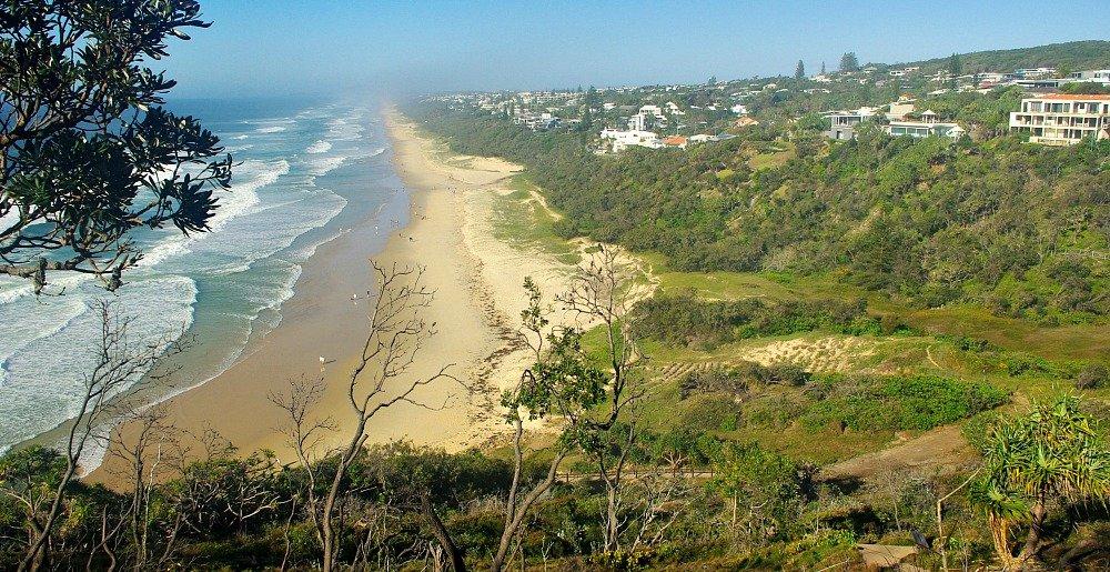 Sunshine Beach from Noosa National Park Coastal Track 4