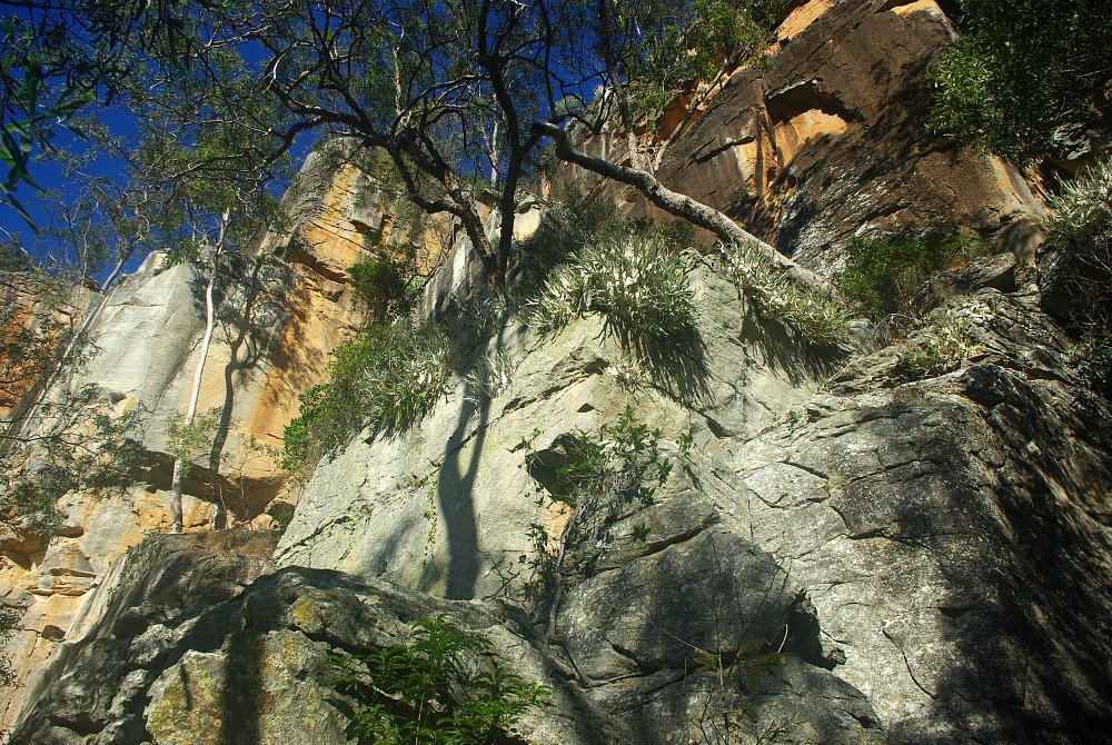 Two Storey Cave walk Cliff