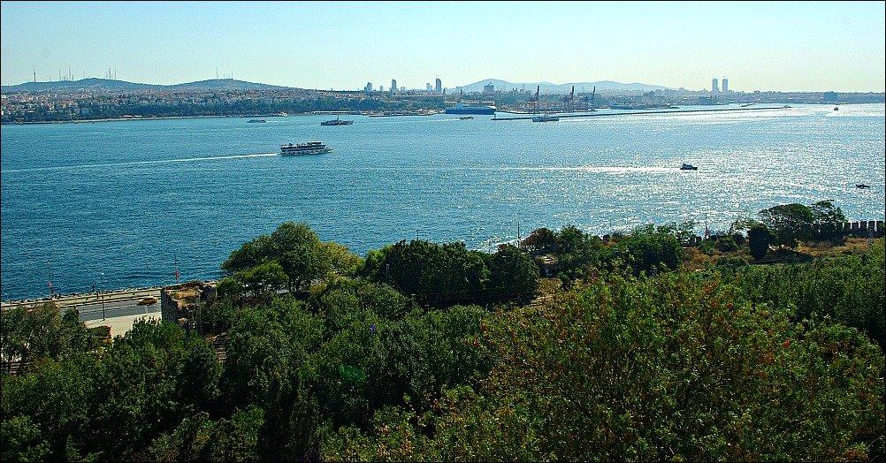 Topkapi Palace View of Sea of Marmara