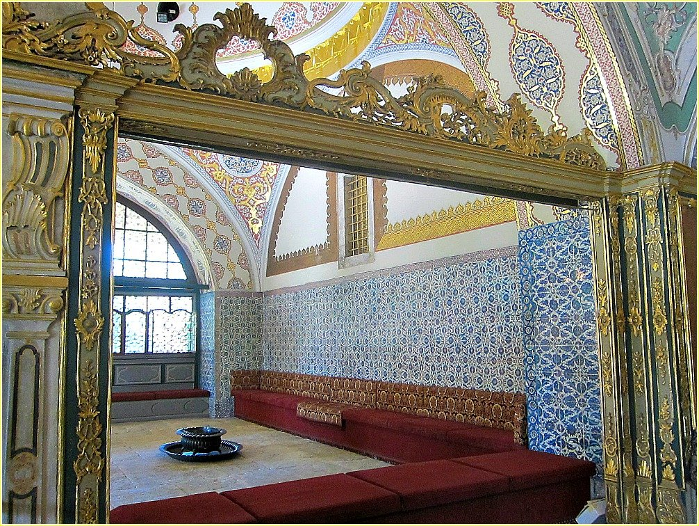 Topkapi Palace Views - Harem
