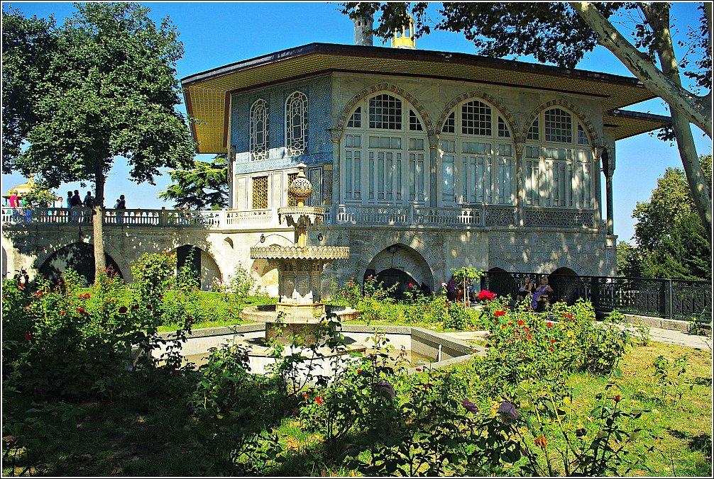 Topkapi Palace Views in Istanbul - Yerevan Kiosk