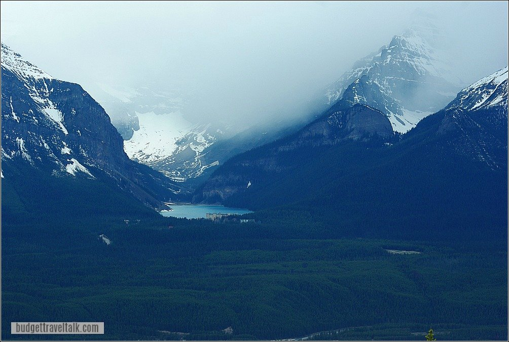 Lake Louise from Mt. Whitehorn