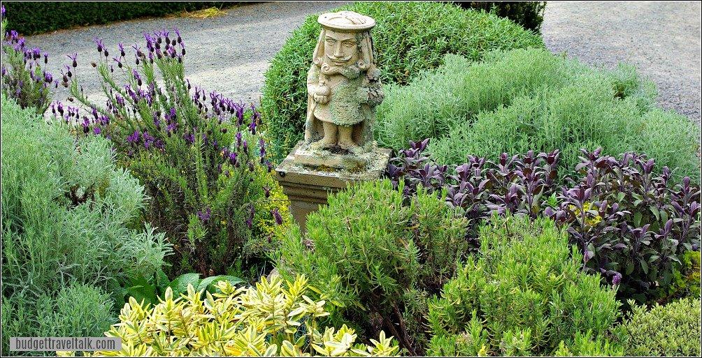 Larnach Castle Garden Statue