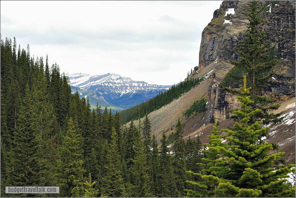 Plain of Six Glaciers Tea House Hike View