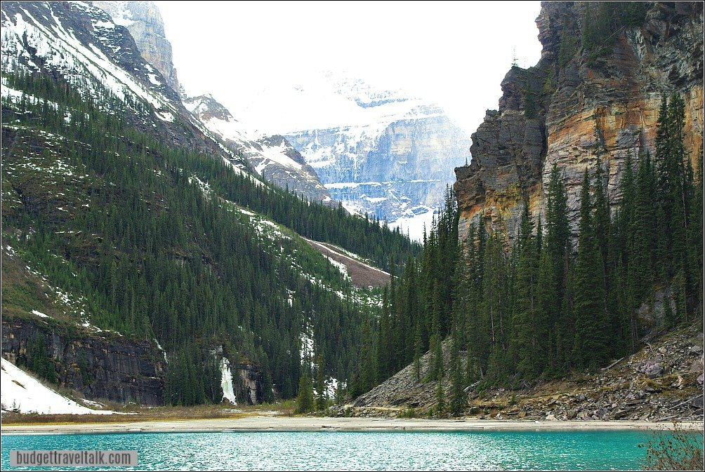 Lake Louise Gondola and a Tea House Hike - Walk to the Far End of Lake Louise on the Lakeshore Trail