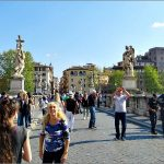A Famous Bridge in Rome: Ponte Sant'Angelo and a Walk by the Tiber