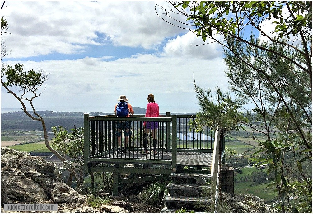 Mt Ninderry Top Lookout has panoramic views up and down the Sunshine Coast of Queensland