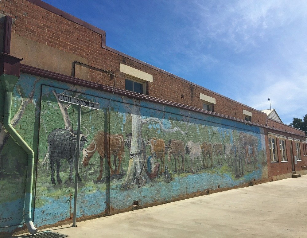 Nanango Queensland Little Drayton Street Murals