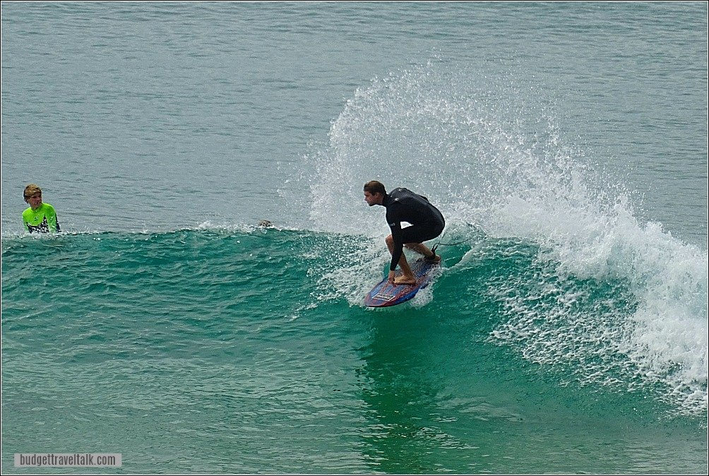 Burleigh Heads Surf Gold Coast Queensland Australia