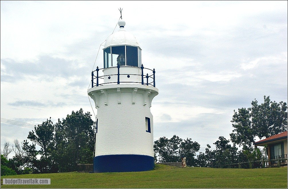 Richmond River Lighthouse Ballina on the New South Wales coast between Coffs Harbour and Brisbane