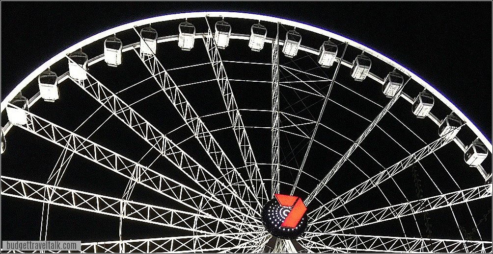 Wheel of Brisbane at South Bank