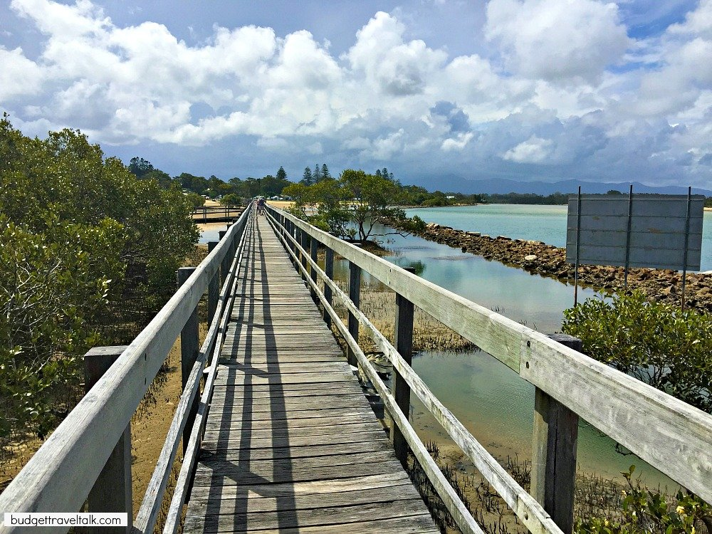 Clouds gathering at Urunga Boardwalk