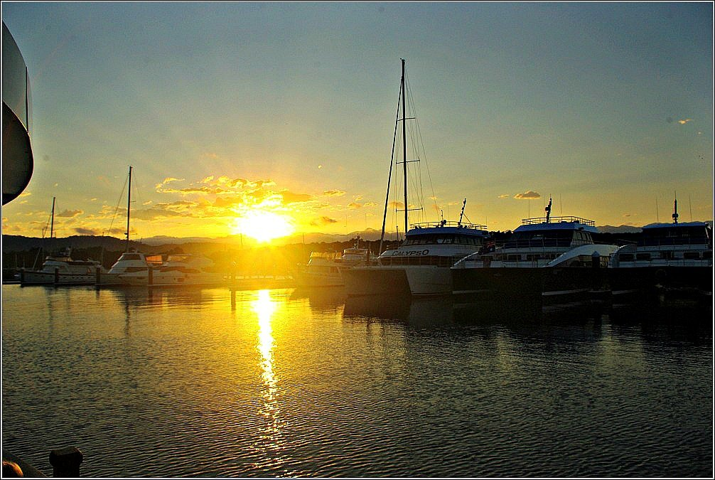 Port Douglas Marina Sunset
