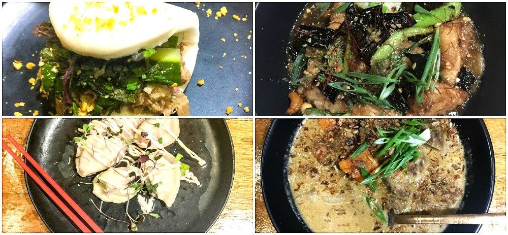 Delicious meals at Bao Down Mount Coolum