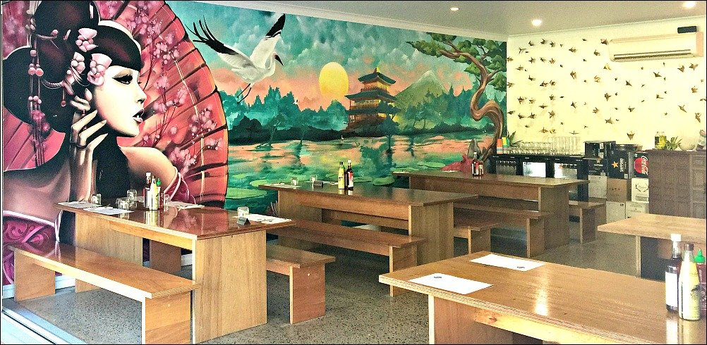 Bao Down Mount Coolum Murals transform the space