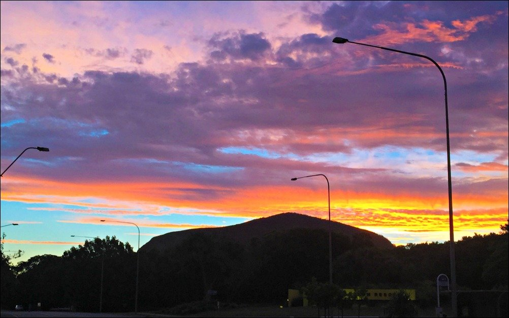 Mount Coolum Queensland Sunset