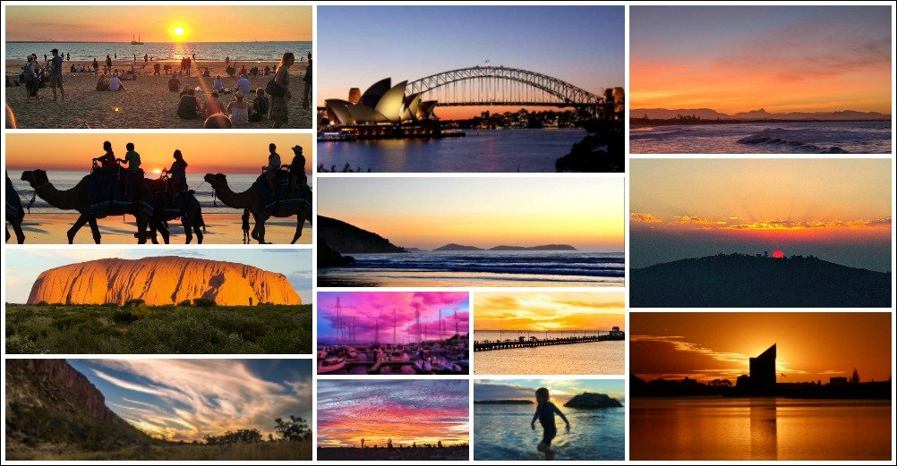 A Collection of Australian Sunsets that make you feel good