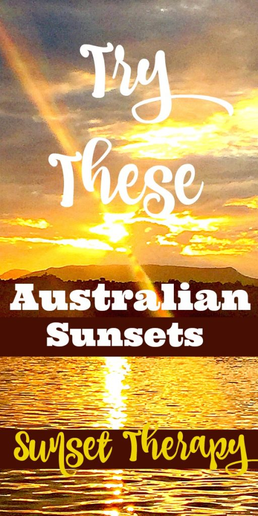 Try These Australian Sunsets for your Sunset Therapy