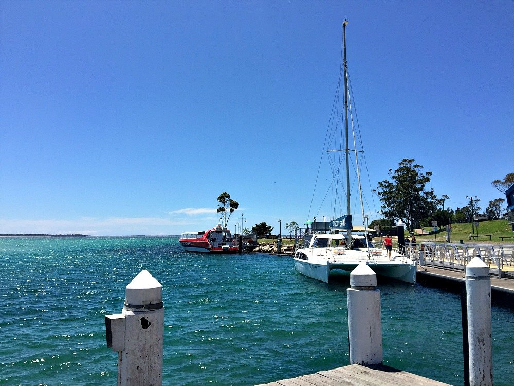 Currambene Creek Wharf Huskisson