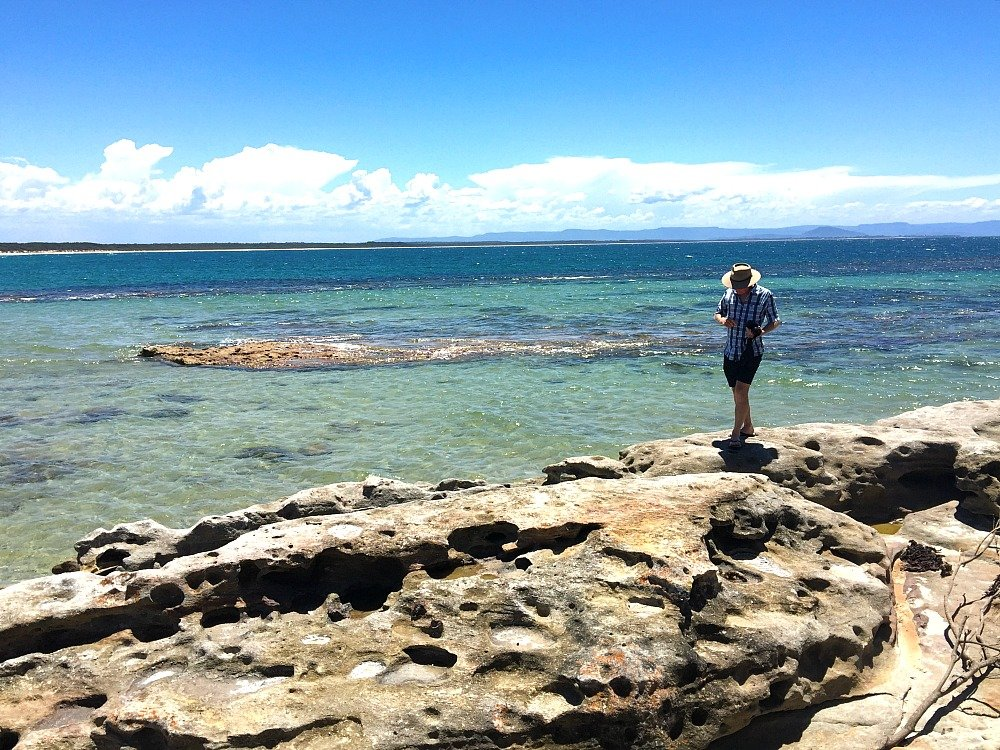 Views from the park at Currarong on the Beecroft Peninsula Jervis Bay