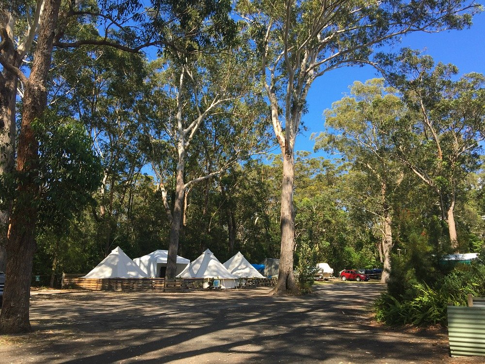 Huskisson Camping at Jervis Bay Holiday Village Woollamia