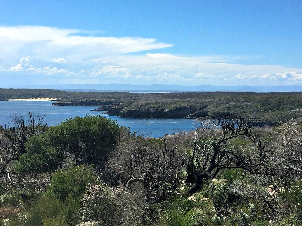 Outer Tubes Walk Point Perpendicular Jervis Bay has spectacular coastal heathland and water views