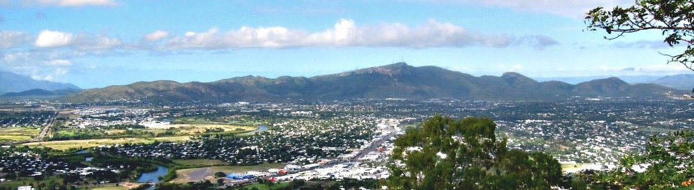 Townsville with Mount Stuart in the background.