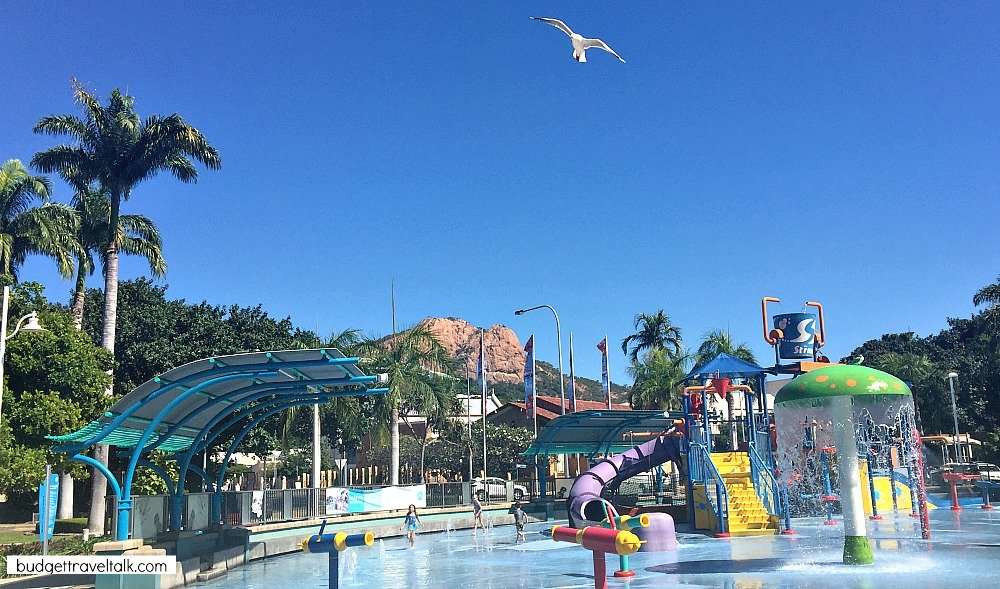 Strand Water Park Townsville is one of the fun things to do in Townsville for Kids