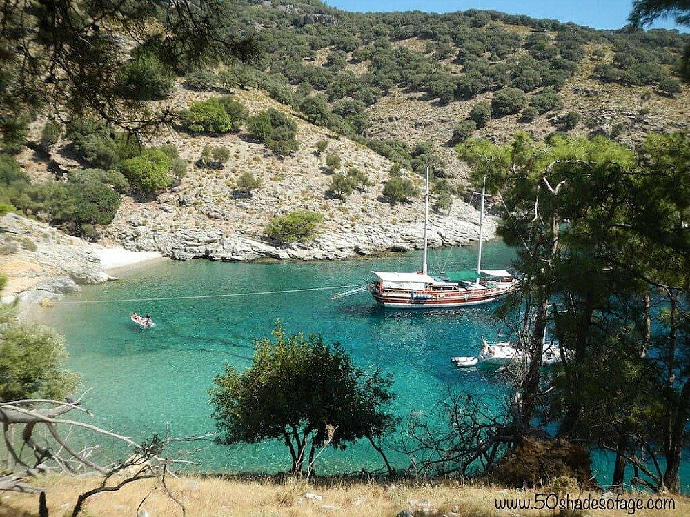 A Gocek Island Boat Tour from Fethiye Turkey