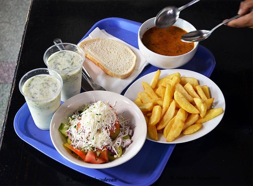 Put affordable Vegetarian Food in Bulgaria Europe