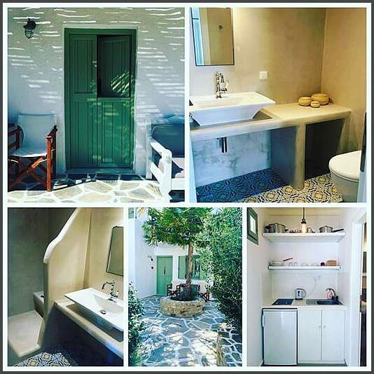 Photo Collage of Nastasia Village Hotel Naxos Greece