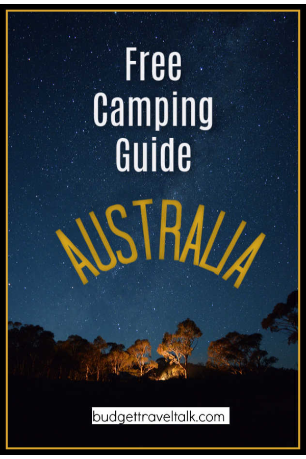Night Sky in Australia like you might see when free camping
