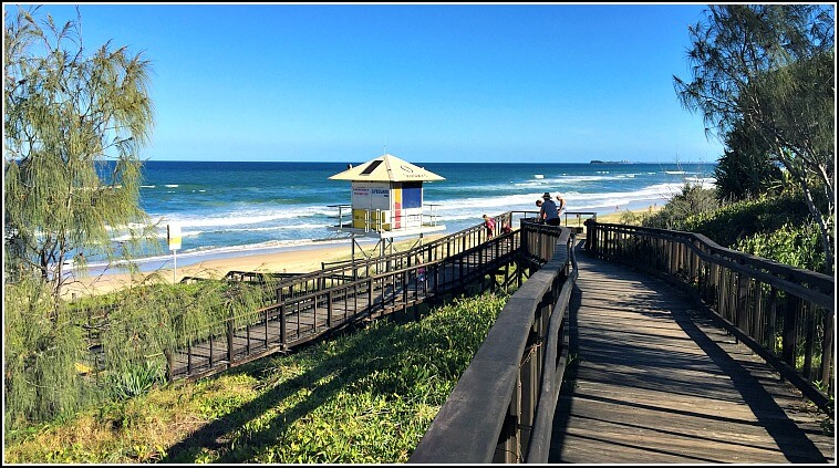 Mount Coolum Boardwalk leading to Surf Lifesavers Lookout