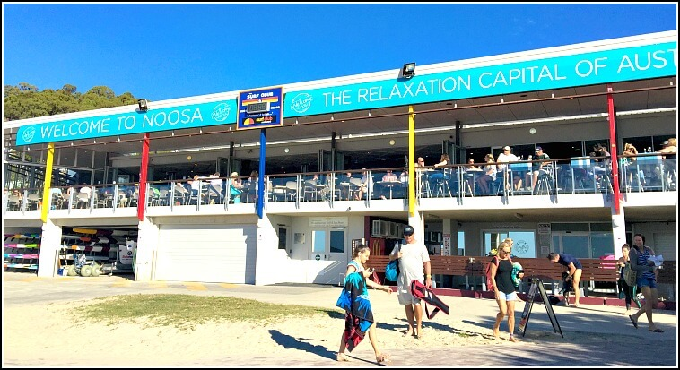 Photo of Noosa Surf Club taken from Noosa Main beach