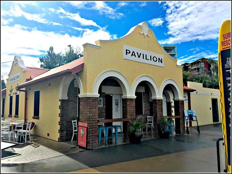 Pavilion Kiosk Kings Beach Caloundra