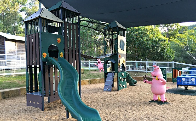 Gold Coast Theme Park Pig Playground