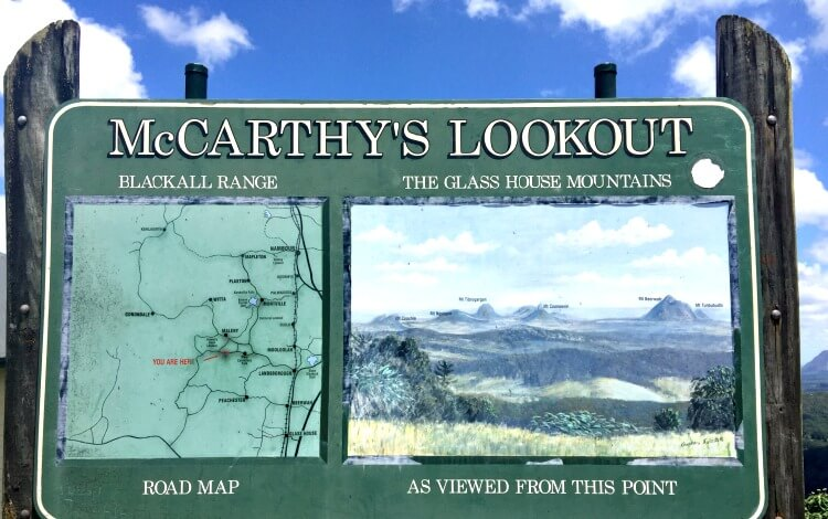 McCarthy's Lookout on our Australia Road Trip in the Sunshine Coast Hinterland
